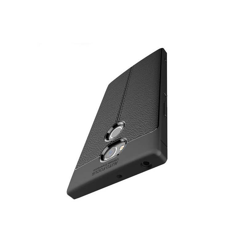 قاب ژله ای طرح چرم Auto Focus Sony Xperia XA2 Ultra
