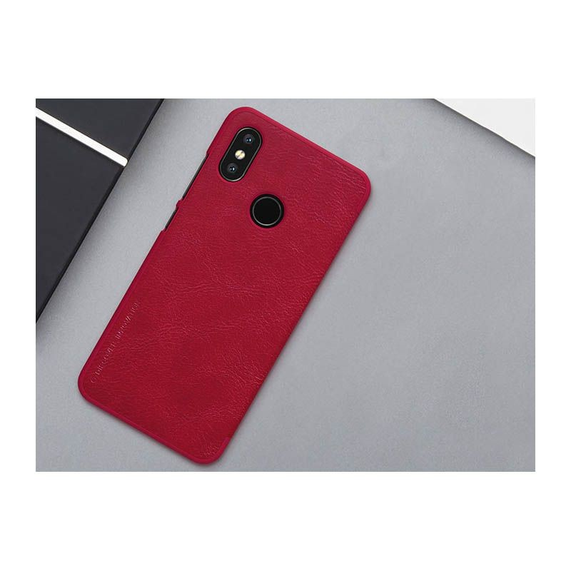 کیف چرمی نیلکین Qin Case Xiaomi Mi 8