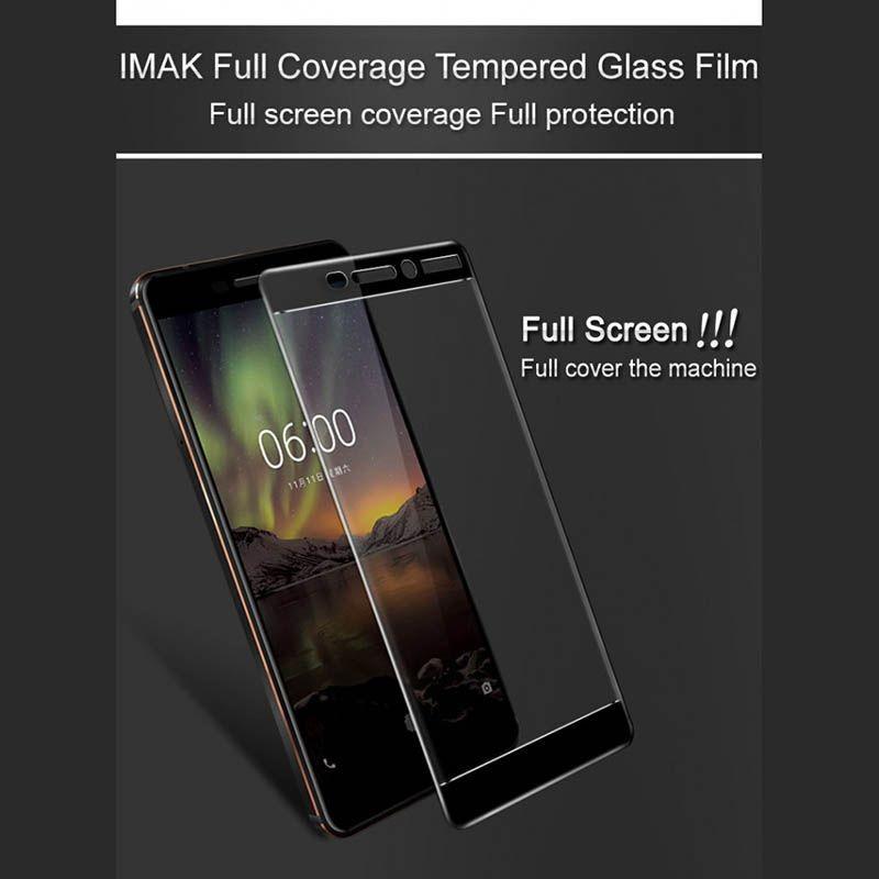 محافظ صفحه نمایش تمام چسب Nokia 6 2018