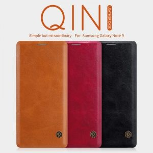 کیف چرمی نیلکین Qin Case Samsung Galaxy Note 9
