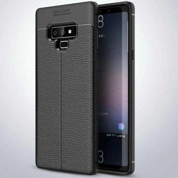 قاب ژله ای طرح چرم Auto Focus Jelly Case Samsung Galaxy Note 9