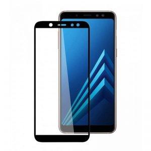 محافظ صفحه نمایش تمام چسب با پوشش کامل Glass Samsung Galaxy A6 Plus 2018