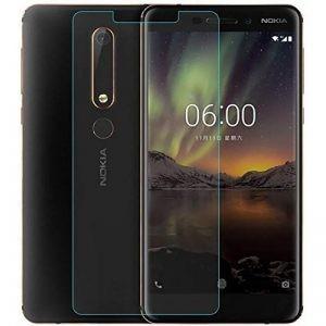 محافظ صفحه نمایش شیشه ای Glass Screen Protector Nokia 6 2018