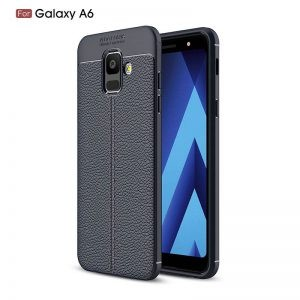 قاب ژله ای طرح چرم Auto Focus Jelly Case Samsung Galaxy A6 2018