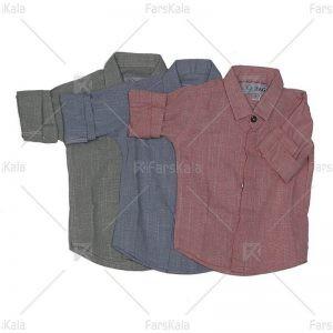 پیراهن پسرانه آستین بلند