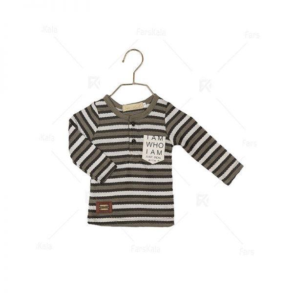 بلوز آستین بلند نوزادی پسرانه BNP106