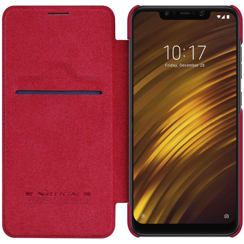 کیف چرمی نیلکین Qin Case Xiaomi Pocophone F1/ Poco F1