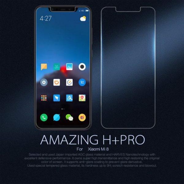 محافظ صفحه نمایش نیلکین H+ Glass Xiaomi Mi 8