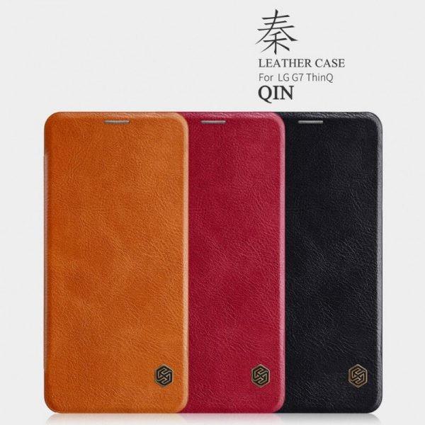 کیف چرمی نیلکین Qin Case LG G7 ThinQ