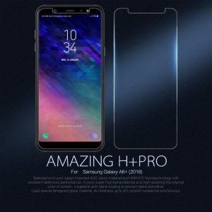 محافظ صفحه نمایش نیلکین H+ Glass Samsung Galaxy A6 Plus 2018