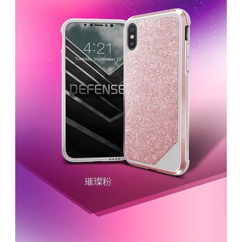 قاب x-doria defense crystal Apple iPhone X