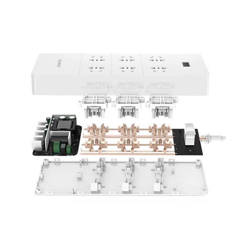 چند راهی 6 سوکت و 5 یو اس بی Orico HPC-6A5U-V1