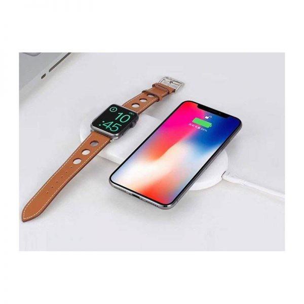 شارژر وایرلس گوشی و اپل واچ Coteetci 2 In 1