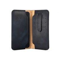 کیف چرمی پول و گوشی Zhuse X Series Leather Bag Small