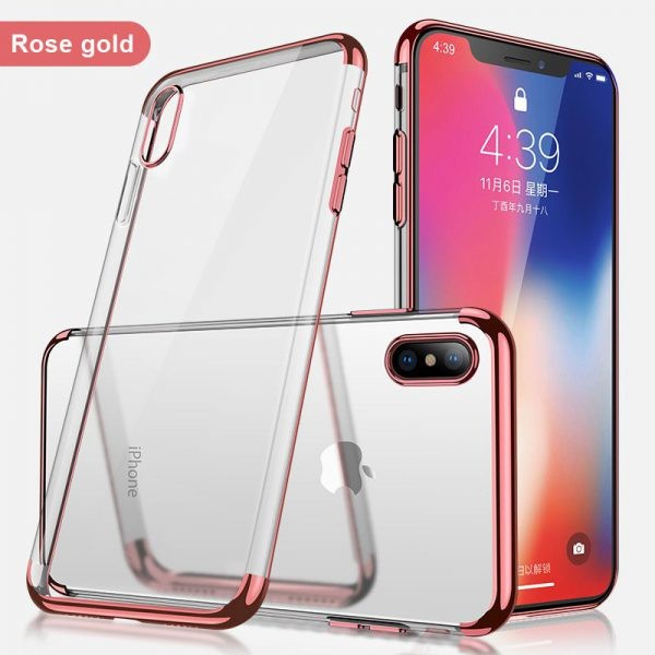محافظ ژله ای BorderColor Apple iPhone X