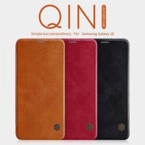 کیف چرمی نیلکین Qin Case Samsung Galaxy J8