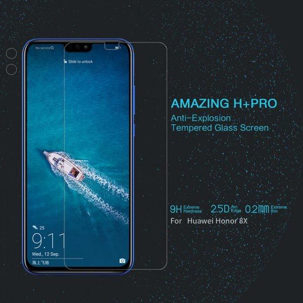 محافظ صفحه نمایش نیلکین H+ Glass Huawei Honor 8X