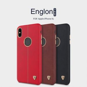 قاب چرمی Nillkin Englon Apple iPhone XS