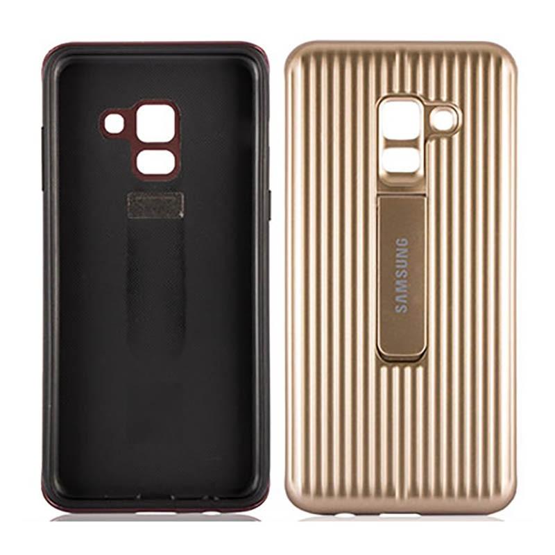 قاب محافظ اصلی Samsung Galaxy A8 Plus 2018 Protective Standing Cover