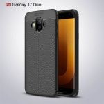 قاب ژله ای طرح چرم Auto Focus Jelly Case Samsung Galaxy J7 Duo