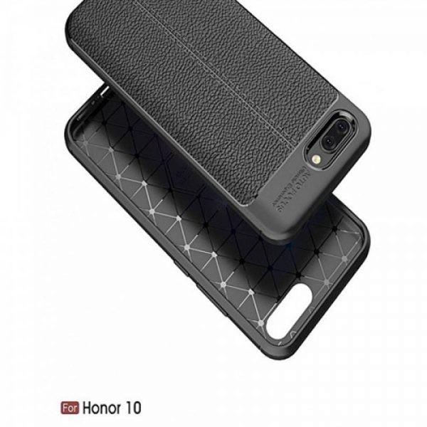 قاب ژله ای طرح چرم Auto Focus Jelly Case Huawei Honor 10