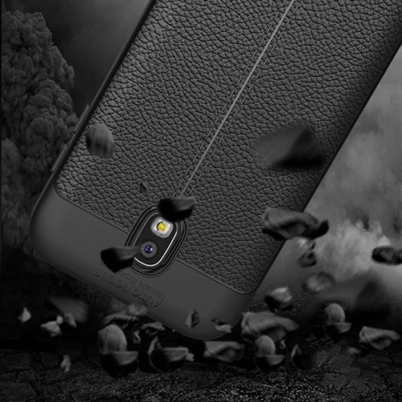 قاب ژله ای طرح چرم Auto Focus Jelly Case Samsung Galaxy J7 Pro/J7 2017