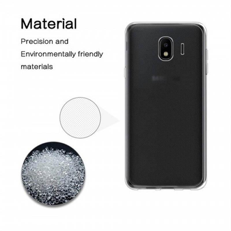 محافظ شیشه ای - ژله ای Transparent Cover برای Samsung Galaxy J4