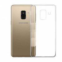 محافظ شیشه ای - ژله ای Transparent Cover برای Samsung Galaxy J6 2018