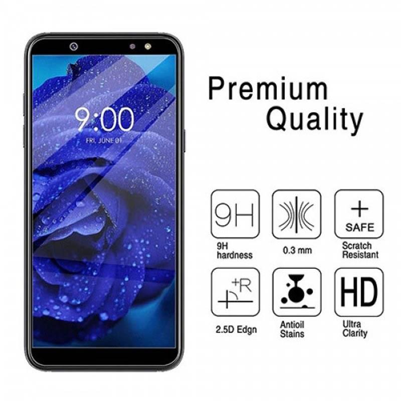 گلس فول چسب بوف Full BUFF Glass Samsung Galaxy A6 plus 2018