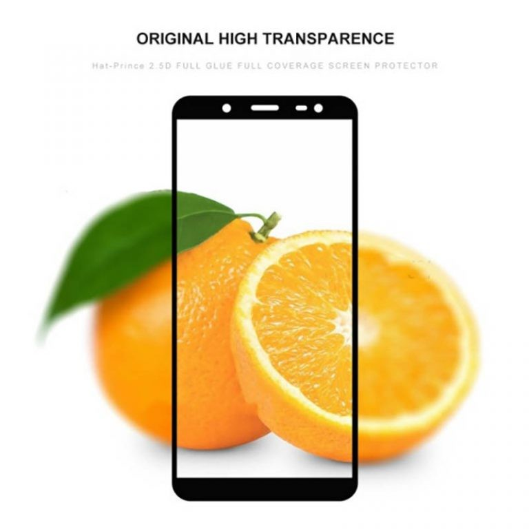 گلس فول چسب بوف Full BUFF Glass Samsung Galaxy J6 2018
