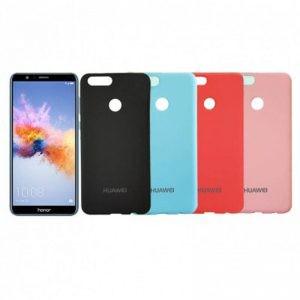 قاب محافظ رنگی سیلیکونی Silicone Cover Huawei Honor 7X