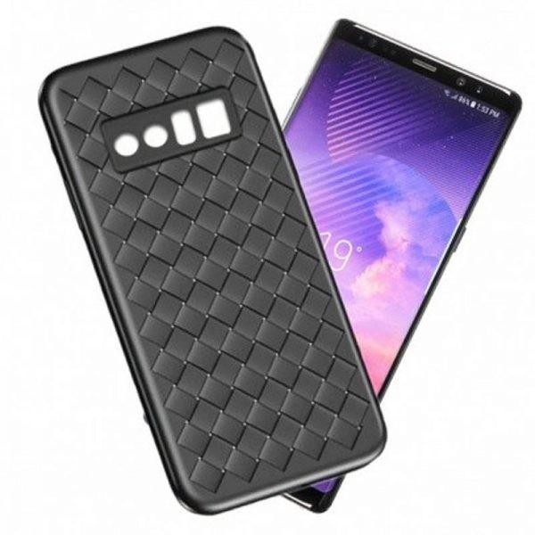 قاب ژله ای طرح چرم حصیری Samsung Galaxy Note 8