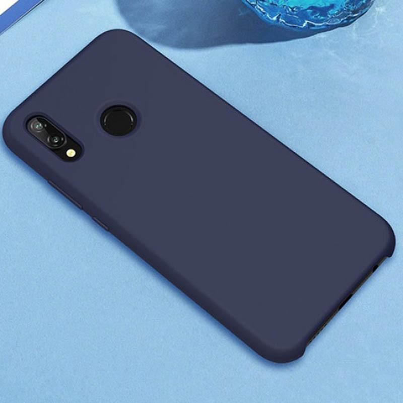 قاب محافظ رنگی سیلیکونی Silicone Cover Huawei P20 Lite