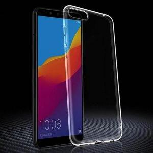 قاب محافظ شیشه ای- ژله ای برای Huawei Y5 Prime 2018