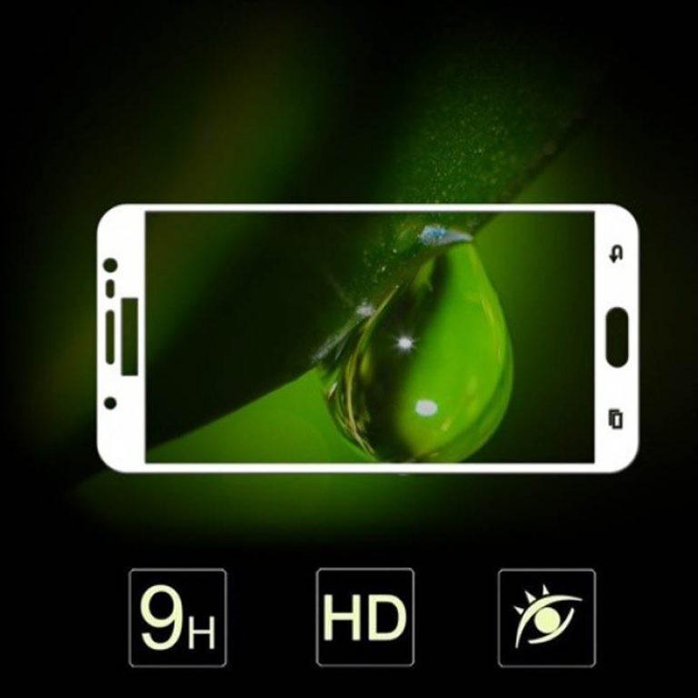 محافظ صفحه نمایش تمام چسب با پوشش کامل Samsung Galaxy J7 Duo