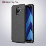 قاب ژله ای طرح چرم Auto Focus Jelly Case Samsung Galaxy A6 Plus 2018