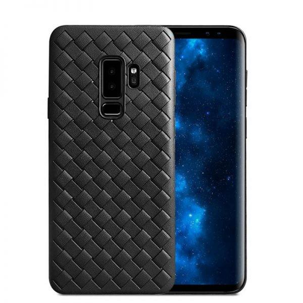 قاب ژله ای طرح چرم حصیری Samsung Galaxy A6 plus 2018