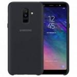 قاب محافظ رنگی سیلیکونی Silicone Cover Samsung Galaxy A6 plus 2018