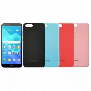 قاب محافظ رنگی سیلیکونی Silicone Cover Huawei Y5 Prime 2018