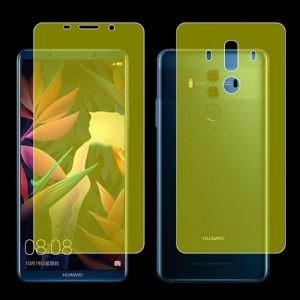 برچسب محافظ نانو تمام صفحه پشت و رو مناسب Huawei Mate 10 Pro