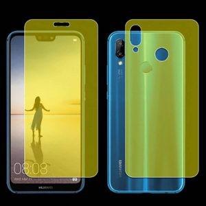 برچسب محافظ نانو تمام صفحه پشت و رو مناسب Huawei P20 Lite 2 In 1 Protector