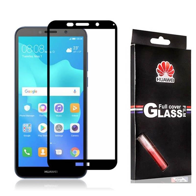 محافظ صفحه نمایش تمام چسب با پوشش کامل Huawei Y5 Prime 2018