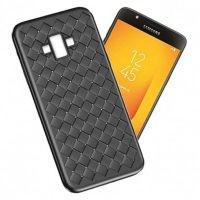 قاب ژله ای طرح چرم حصیری Samsung Galaxy J7 Duo
