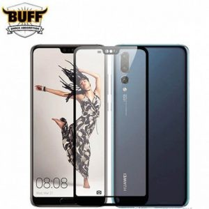 گلس فول چسب بوف Full BUFF Glass Huawei P20 Pro