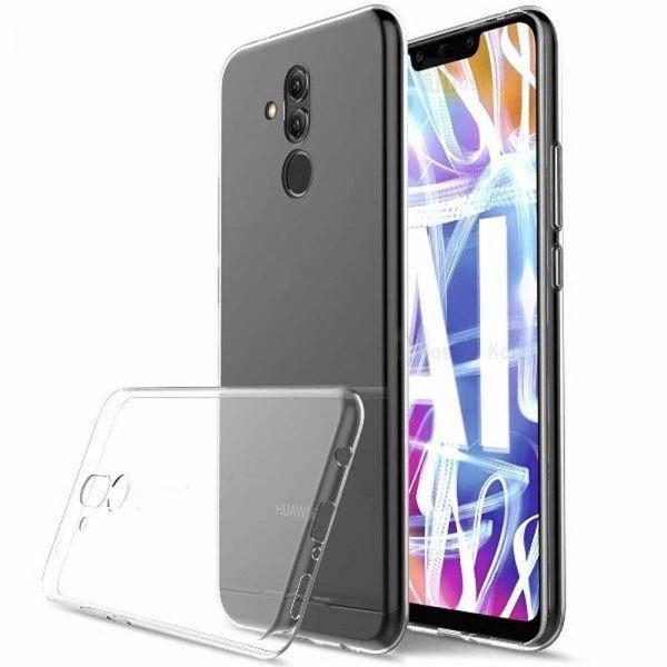 قاب محافظ شیشه ای- ژله ای برای Huawei Mate 20 Lite
