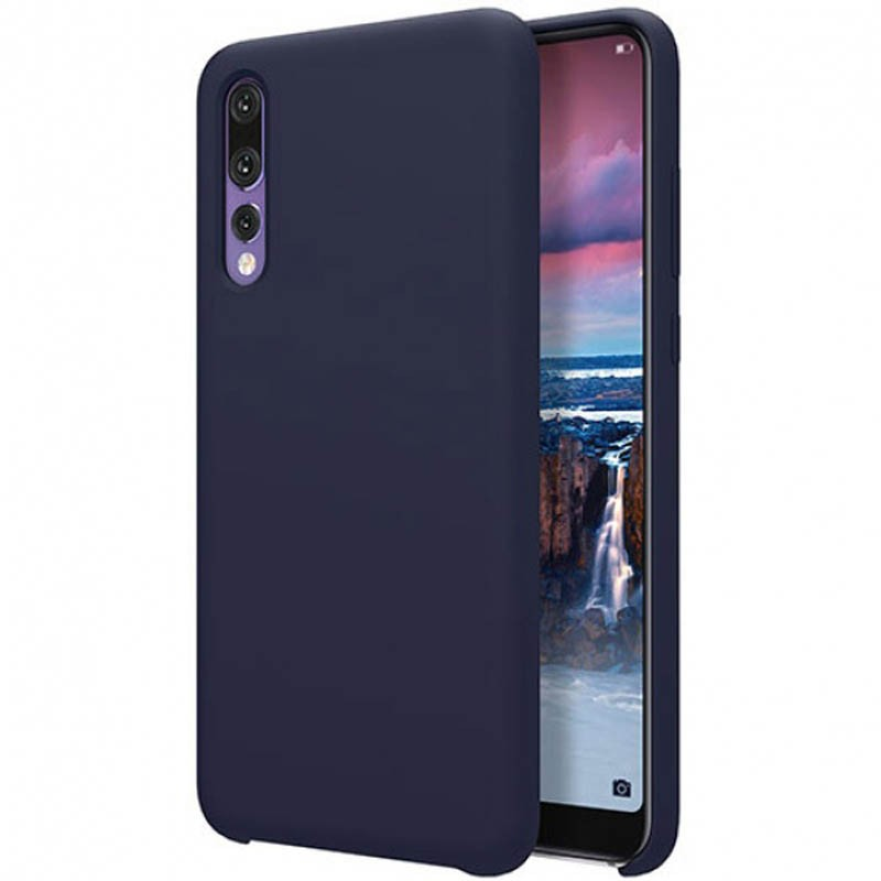 قاب محافظ رنگی سیلیکونی Silicone Cover Huawei P20 Pro