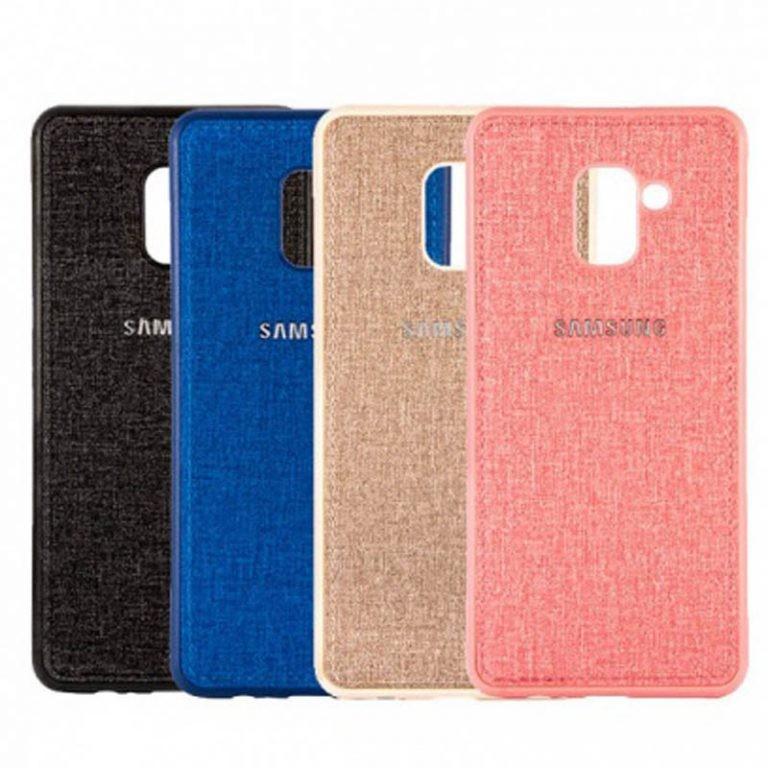 قاب محافظ طرح پارچه ای Protective Cover Samsung Galaxy J6 2018