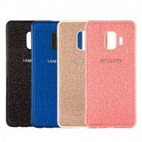 قاب محافظ طرح پارچه ای Protective Cover Samsung Galaxy J4