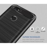 قاب محافظ ژله ای هوآوی Carbon Fibre Case Huawei Honor 7C / Enjoy 8