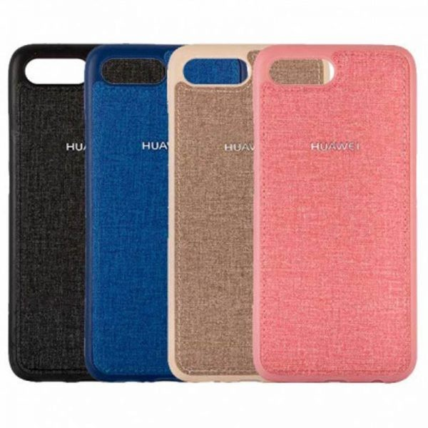 قاب محافظ طرح پارچه ای Protective Cover Huawei Y5 Prime 2018